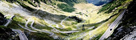 Top Gear declared Transfagarasan World's best driving roads