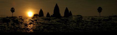The representative image of Cambodia - Angkor Wat