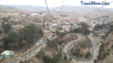 View from the Cable Car - La Paz, Bolivia