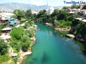 Mostar River, Bosnia and Herzegovina
